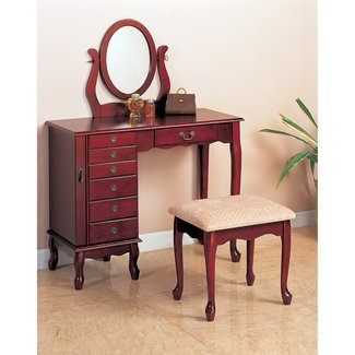 Winlock Vanity Set with Mirror