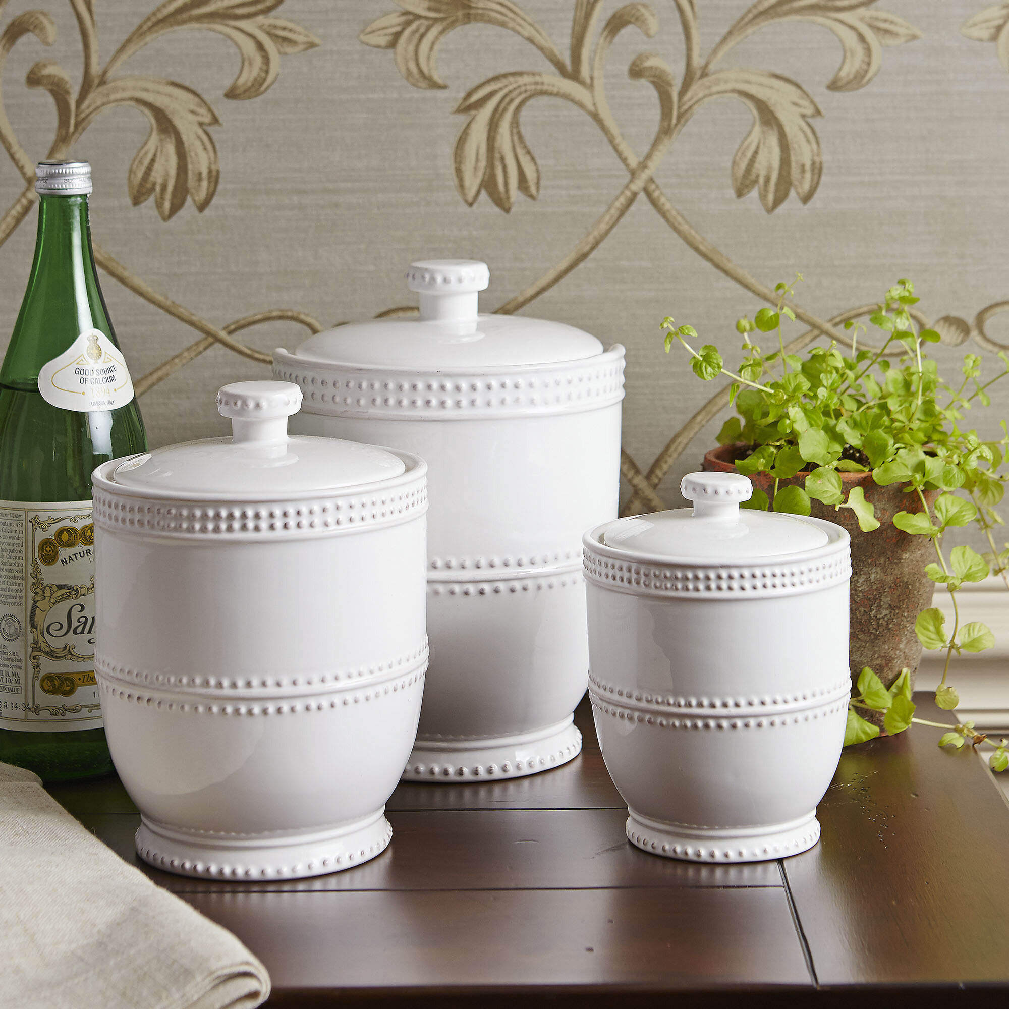 Decorative Kitchen Canisters Sets You Ll Love In 2021 Visualhunt