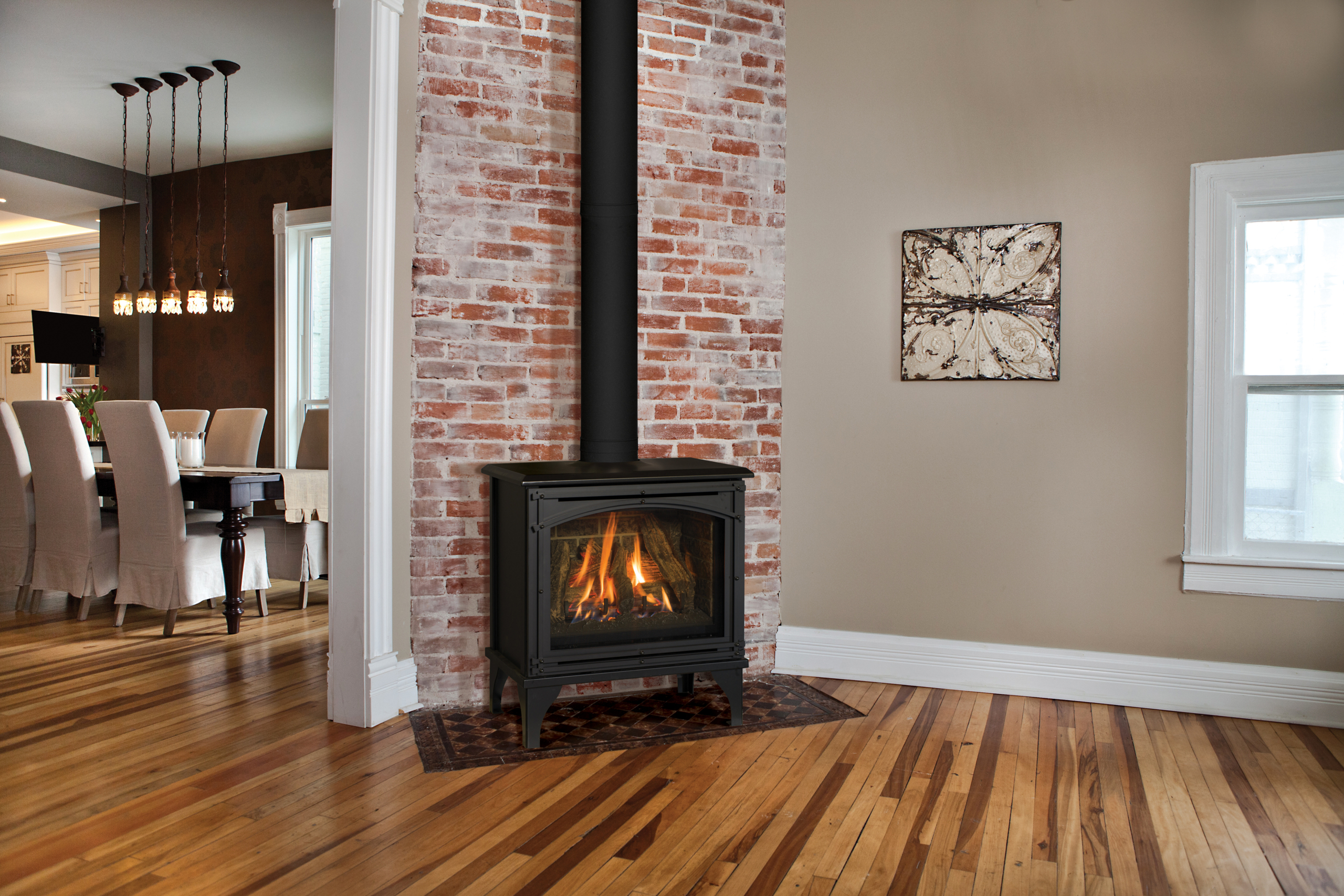 50+ Free Standing Ventless Gas Fireplace - Visual Hunt