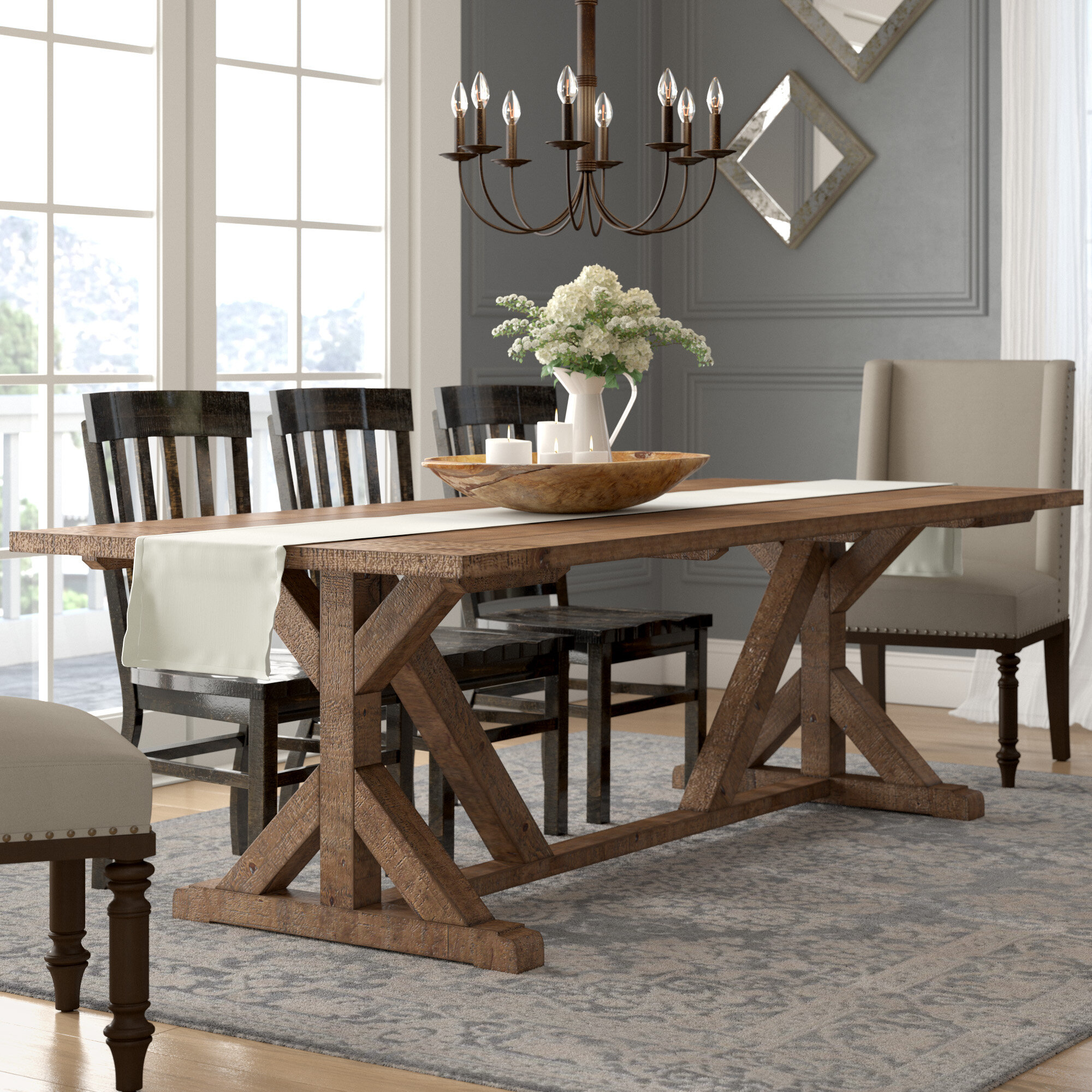 Reclaimed Wood Dining Table You Ll Love In 2020 Visualhunt