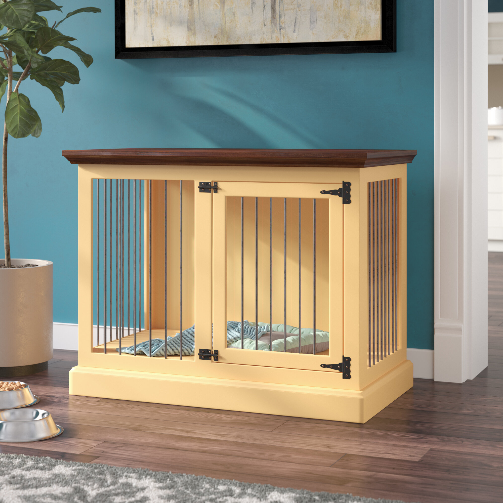 Picture of: Wood Dog Crate Furniture You Ll Love In 2020 Visualhunt